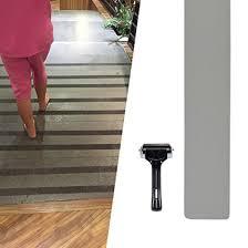 anti slip safety tape 33 feet pvc free gray adhesive stair treads