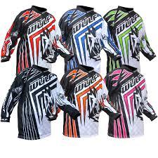 girls motocross gear wulf wsx 4 cub junior niños motocross ensayos bici de la suciedad