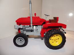 lego mini cooper engine lego ideas 1950 u0027s massey ferguson tractor