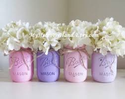Vase Centerpieces For Baby Shower Baby Shower Decorations Mason Jar Centerpieces Rustic Home