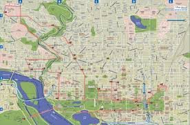 Map Dc Maps Update 700495 Washington Dc Tourist Map Printable