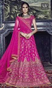 hot pink colour buy new bridal lehenga indian traditional lehenga