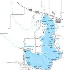 Lake Michigan Beaches Map by Devilslakemap Jpg