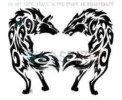 tattoo wolf tribal design 1000 geometric tattoos ideas