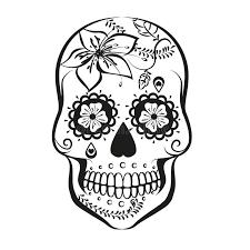 sugar skull stock vector illustration of beautiful 61716979