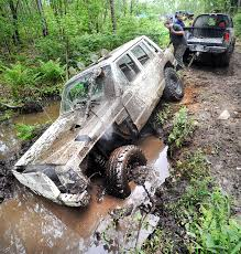 jeep stuck in mud stuck readers tell tales of their immobility lewiston sun journal