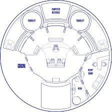 star trek enterprise floor plans star trek uss enterprise ncc 1701 bridge free paper model