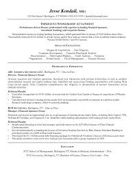 Sample Real Estate Resume by Free Financial Sponsors Resume Example