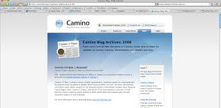 camino browser mozilla launches a slick beta of camino 2 0 venturebeat