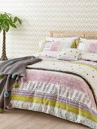 scion raita stripe duvet cover set house of fraser
