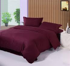 solid white comforter set 1cm stripe solid color home textile hotel white bedding set queen