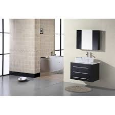 30 Inch Bathroom Vanity With Sink by Design Element Dec071d Elton 30 Inch Wall Mount Bathroom Vanity