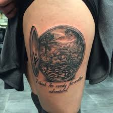 hobbit hole tattoo love my newest ink tattoo hobbit inked