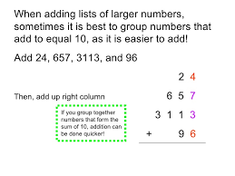 adding whole numbers cdp presentation
