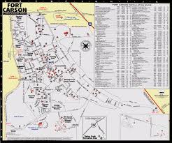 fort carson map ex and stripes march 2003