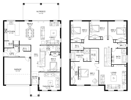 house designs and floor plans nsw jewel 38 double level floorplan by kurmond homes new home