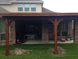 Attached Patio Cover Designs Covered Patio Attached To House Home Design Ideas
