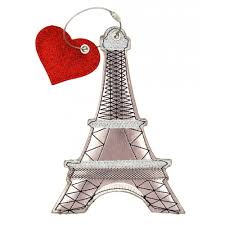 Eiffel Tower Ornaments Loungefly Eiffel Tower Luggage Tag Pearl Loungefly From Jukupop Uk