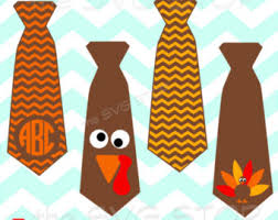 thanksgiving tie etsy