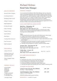 resume examples for retail sales manager resume ixiplay free