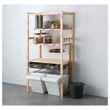 Ikea Gorm Discontinued by Ikea Ivar Shelving Unit With Drawers Untreated Solid Pine Is A