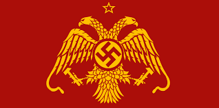 Sickle Russian Flag If Germany Successfully Invaded The Soviet Union Vexillology