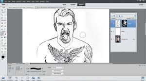 photo to cartoon photoshop effects nik28 zone 6 step03 jpg