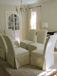White Dining Room Chairs White Dining Room Chair Covers Gen4congress Com