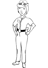 police officer 43 jobs u2013 printable coloring pages