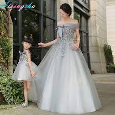 robes m re du mari correspondant mère fille vêtements maman et fille de mariage robe