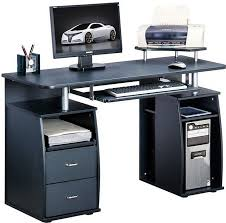 computer desk with cpu storage amazing of black computer desk black computer desk with drawers