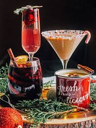 festive drinks add to the atmosphere