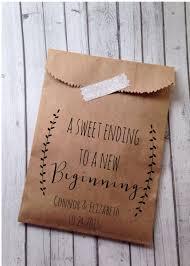 wedding favor bags wedding favor bags rustic laurel candy bags bridal shower