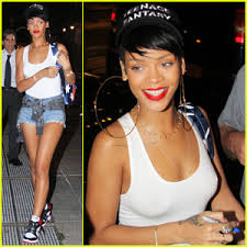 rihanna hoop earrings rihanna big hoop earrings for da silvano dinner rihanna just
