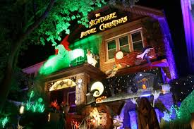 surprising nightmare before christmas decorated house stunning