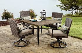 Dining Patio Set - grand resort river oak 5 piece dining set limited availability