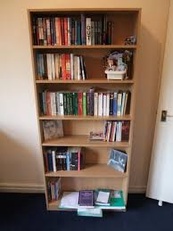 Free Standing Wooden Shelving Plans by Severin Bookshelf Designsponge Free Standing Bookshelves Air