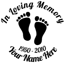 customizable in loving memory stickers decals car stickers