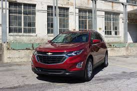 2018 chevrolet equinox a lukewarm competitor in a red segment