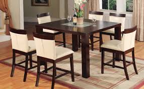 Modern Square Wood Dining Table Uncategorized Compact Dining Room Suit Ideas Tables And Modern