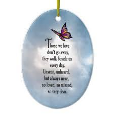 butterfly sympathy ornaments keepsake ornaments zazzle