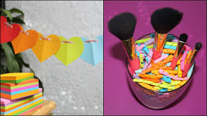Room Decors by Diy Room Decorations Using Memo Pad Sticky Note Youtube