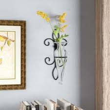 Vase Wall Sconce Flower Vase Wall Sconce Wayfair