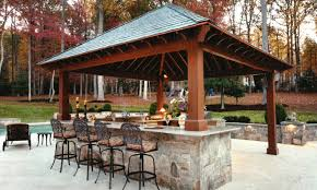cool outdoor kitchen and bar images home design wonderful in