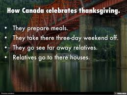 thanksgiving on canada by montalvo
