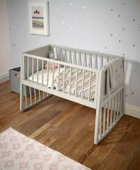 Rocking Bed Frame rocking crib pebble grey mamas u0026 papas