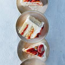 Halloween Ice Cream Cake by Peaches And Cream Ice Cream Cake Recipe Laura Rege Food U0026 Wine