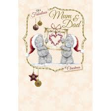 mum and dad me to you bear christmas card 2 49 teddy