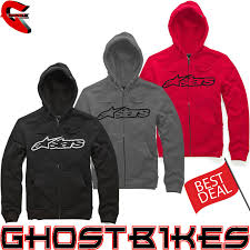 alpinestars 2013 genuine blaze hooded fleece cotton zip up