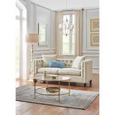 home decorators collection lakewood beige linen sofa 1310710870